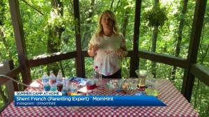 Mom Hint's Sherri French shares her ideas for summer camp at home with kids