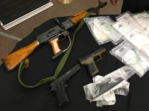 Purple fentanyl, meth, replica guns seized in Deseronto following OPP search