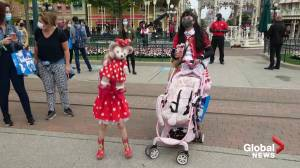 Coronavirus: Disneyland Paris reopens after 4-month closure amid pandemic