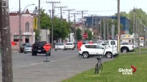 Pink line metro line a key campaign promise once again for Projet Montréal (01:23)
