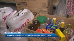 More Canadians may be turning to food banks during pandemic: expert