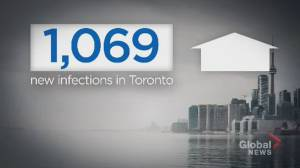 Ontario sees record number of COVID-19 infections (02:56)