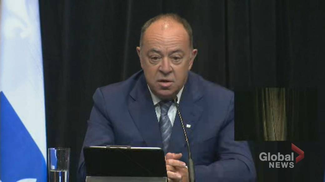 Click to play video 'Coronavirus: Quebec to prohibit movement of employees between long-term care homes in 2nd wave plan'