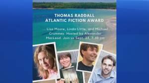 Celebrating 30 Years of the Thomas Raddall Atlantic Fiction Award (06:16)