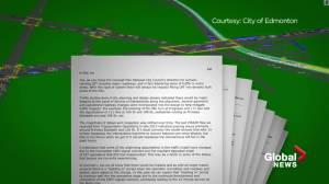 Edmonton politicians responds to Metro LRT Line documents suggesting major future traffic woes (02:57)