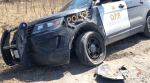 OPP cruiser involved in collision in Selwyn Township