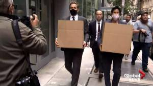 FBI raids offices of NYPD Sergeants Union HQ, Union president's home (01:42)