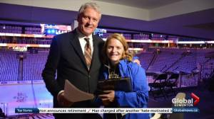 Farewell, Global News at 5 producer extraordinaire Christine Meadows (01:34)