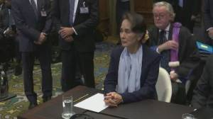 Suu Kyi rejects Myanmar genocide claims at UN court