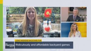 Backyard fun and games to keep your family entertained this summer (06:47)
