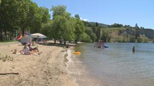 """""""It was the worst thing that that I have ever experienced in my entire life,"""" toddler floating face down in Okanagan Lake pulled out of water and resuscitated."""