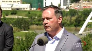 'This is open for good': Jason Kenney says province will continue to monitor localized outbreaks (01:26)