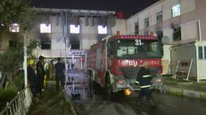 Baghdad hospital fire leaves at least 82 dead, PM orders investigation (02:13)