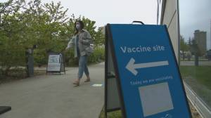 Despite vaccine priority, some B.C. moms-to-be are hesitant to get COVID-19 shot (02:06)