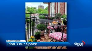 Décor to keep your balcony looking fresh