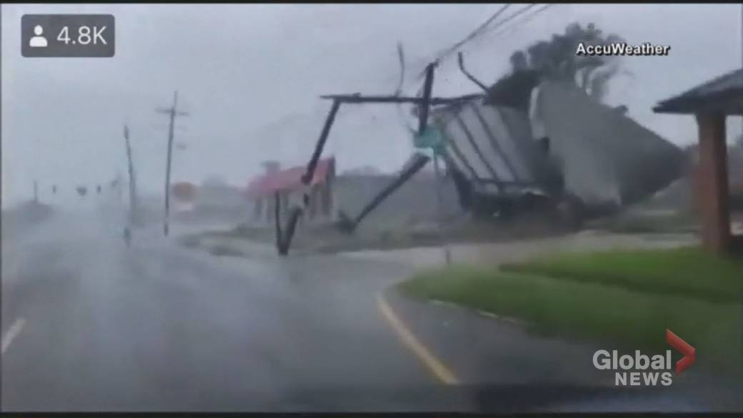 Click to play video: 'Hurricane Ida: Louisiana begins assessing damage as a million people left without power'