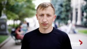 Ukraine police investigating death of Belarus activist found hanged in Kyiv park (05:21)