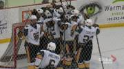 Play video: Warman Wildcats comeback to beat P.A Mintos 5-2 for their first franchise win