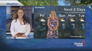 Global News Morning weather forecast: FRIDAY, November 6, 2020 (01:54)