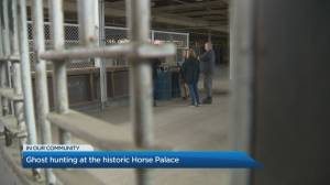 Ghost hunting at Toronto's historic Horse Palace
