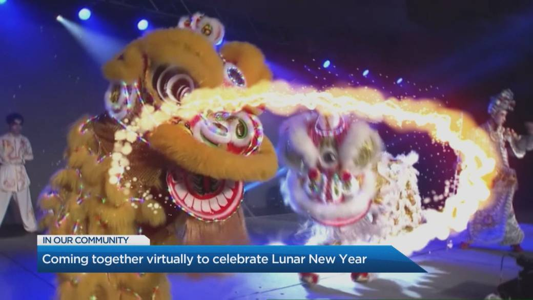 Click to play video 'Coming together virtually to celebrate Lunar New Year'