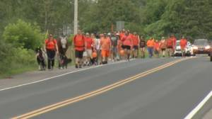Indigenous Awareness Walk held on Canada Day in Douro-Dummer Township (02:05)