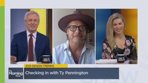 Looking for home renovation ideas? HGTV Canada's Ty Pennington shares the hottest design trends for 2021 (08:11)