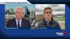 News anchor Pat Kiernan explains how New York City is coping with massive COVID-19 numbers