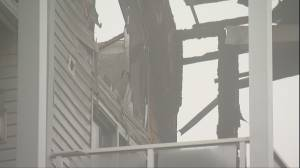 Calgary fire victims get unexpected temporary homes