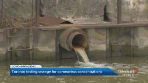 Toronto testing sewage for coronavirus concentrations