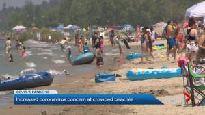 Increased coronavirus concern at Ontario beaches