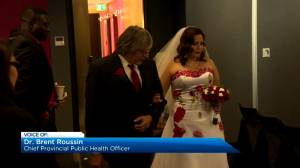 Guests must now be fully vaccinated at licensed Manitoba weddings (02:02)