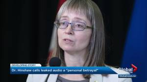 Dr. Deena Hinshaw calls leaked public health meeting recordings a 'personal betrayal' (03:36)