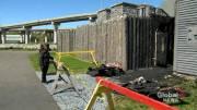 Play video: Fire at Fort La Tour interpretation centre in Saint John deemed 'suspicious'