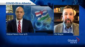 Infectious disease expert believes Alberta needs to find 'sweet spot' in COVID-19 restrictions (04:05)