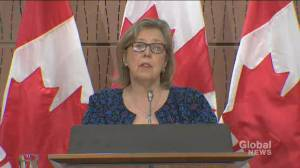 George Floyd death: Elizabeth May says the U.S. 'no longer a safe place' because of Trump