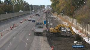 Construction on 14th Street continues in southwest Calgary