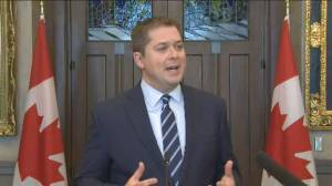 Scheer says authorities must enforce court orders, injunctions over blockades