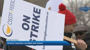 Ontario elementary teacher's negotiations escalating