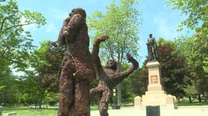 Kingston artist hopes to inspire others as he addresses Sir John A. Macdonald's legacy (02:05)