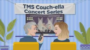 TMS Couchella: Vance Joy performs 'Fire and the Flood'