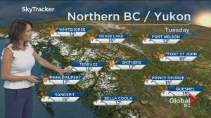 B.C. evening weather forecast: Sep 16