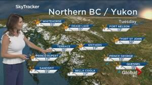 B.C. evening weather forecast: Sep 16