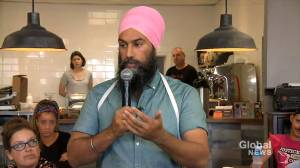 Federal Election 2019: 'I want folks to know they do belong,' says Singh following Trudeau's blackface scandal