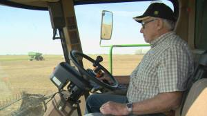 Raymore farmer marks 70th straight harvest