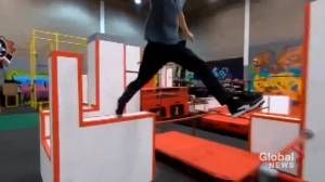 COVID-19: Pandemic restrictions lead to 'incredibly difficult' closure of Calgary parkour facility (01:48)
