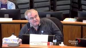 Red Deer councillor harassed over mandatory mask bylaw (01:49)