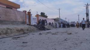 At least 30 dead, dozens injured in blasts near school in Kabul (00:41)