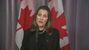 Freeland says Canadians want all levels of government to 'work together' across country