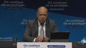 Quebec to shorten COVID-19 vaccine second dose interval for AstraZeneca, Moderna for people 50+ (01:07)